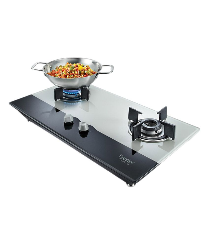 Prestige PHT02 Hobtop 2 Burner Auto Ignition Gas Cooktop