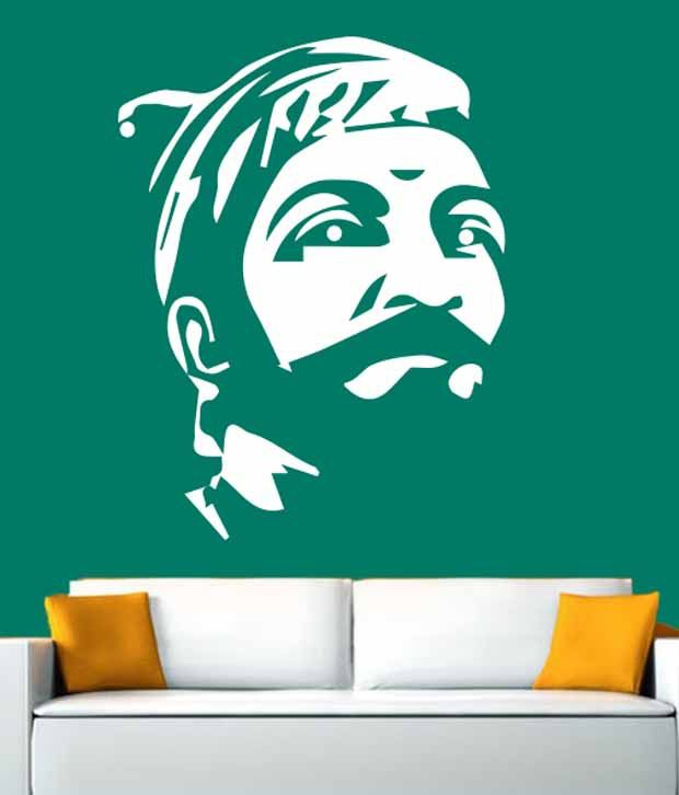 Hoopoe Decor Shivaji The Great Wall Stickers And Decals