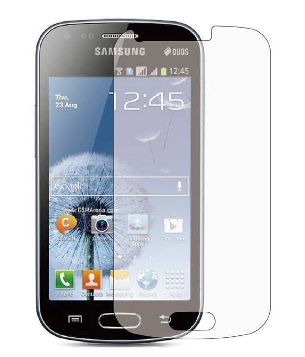 Uni Mobile Care 2 Tempered Glass Screen Guard/Screen protector For Samsung Galaxy Trend GT
