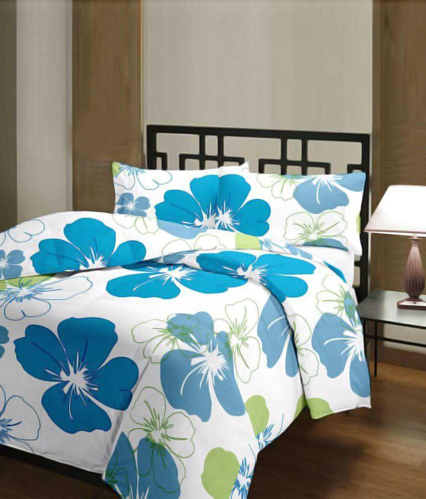 Samradhi Multicolour Poly Cotton Blanket
