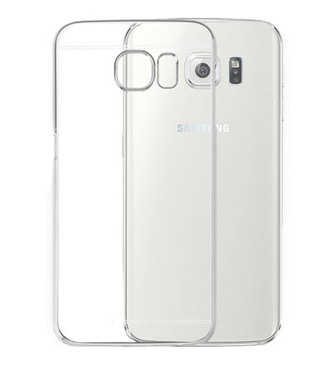 detailed pictures 8095f eeb82 Tommcase Totu Simple Transparent Back Case Cover For Samsung Galaxy S6 Edge  - Silver