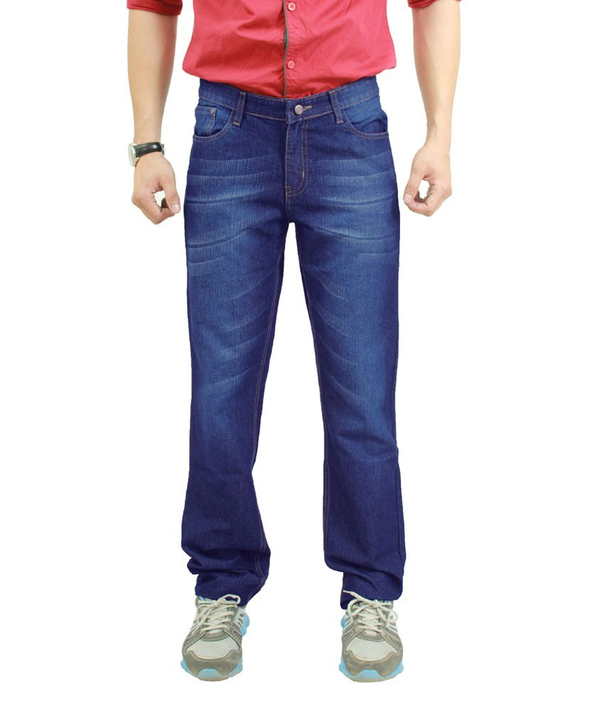 Uber Urban Regular Fit Cotton Rich Fashion Denim For Mens.