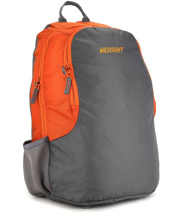 Wildcraft Orange Club Laptop Backpack