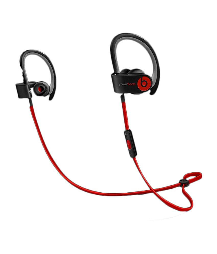 f84142464e5 Beats PowerBeats 2 Wireless In the Ear Earphone- Black - Buy Beats  PowerBeats 2 Wireless In the Ear Earphone- Black Online at Best Prices in  India on ...
