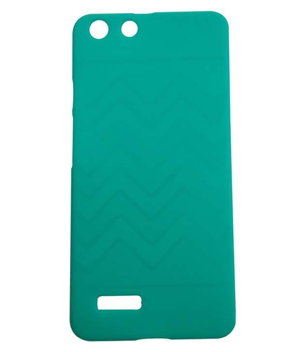 sports shoes 9bc90 3aa91 eChoice Back Cover for Micromax Canvas Hue AQ5000 - Green