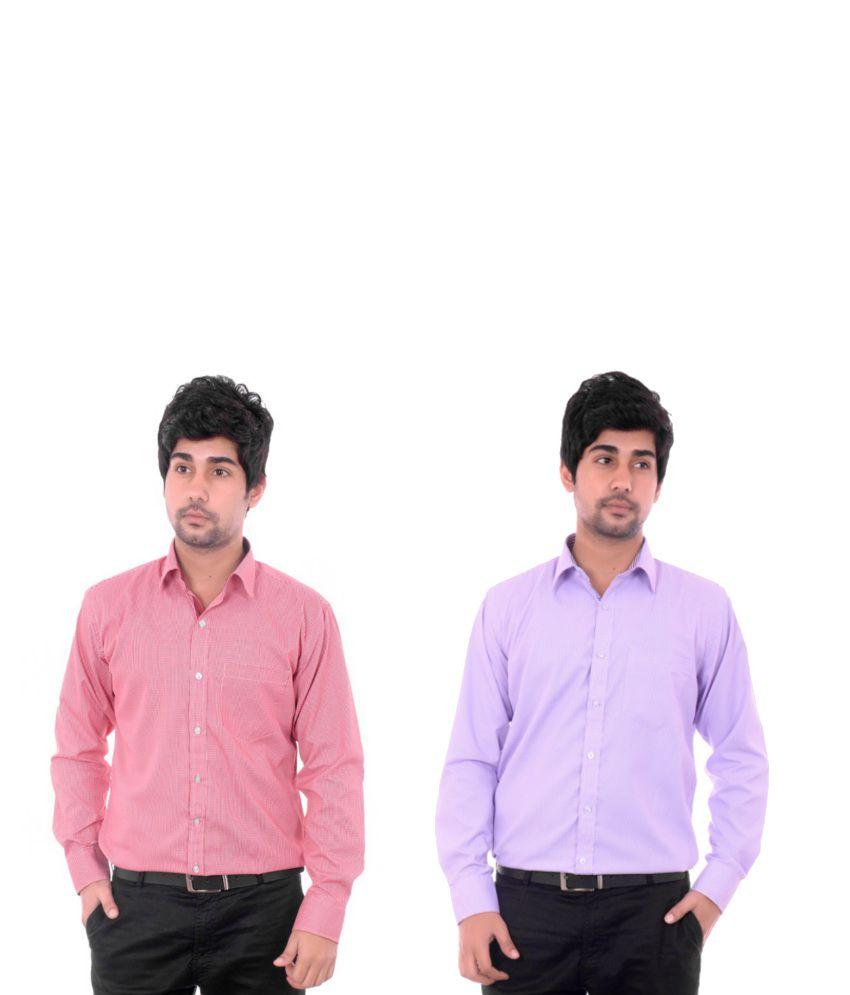 D.c.washington Combo Of Pink And Purple Shirts