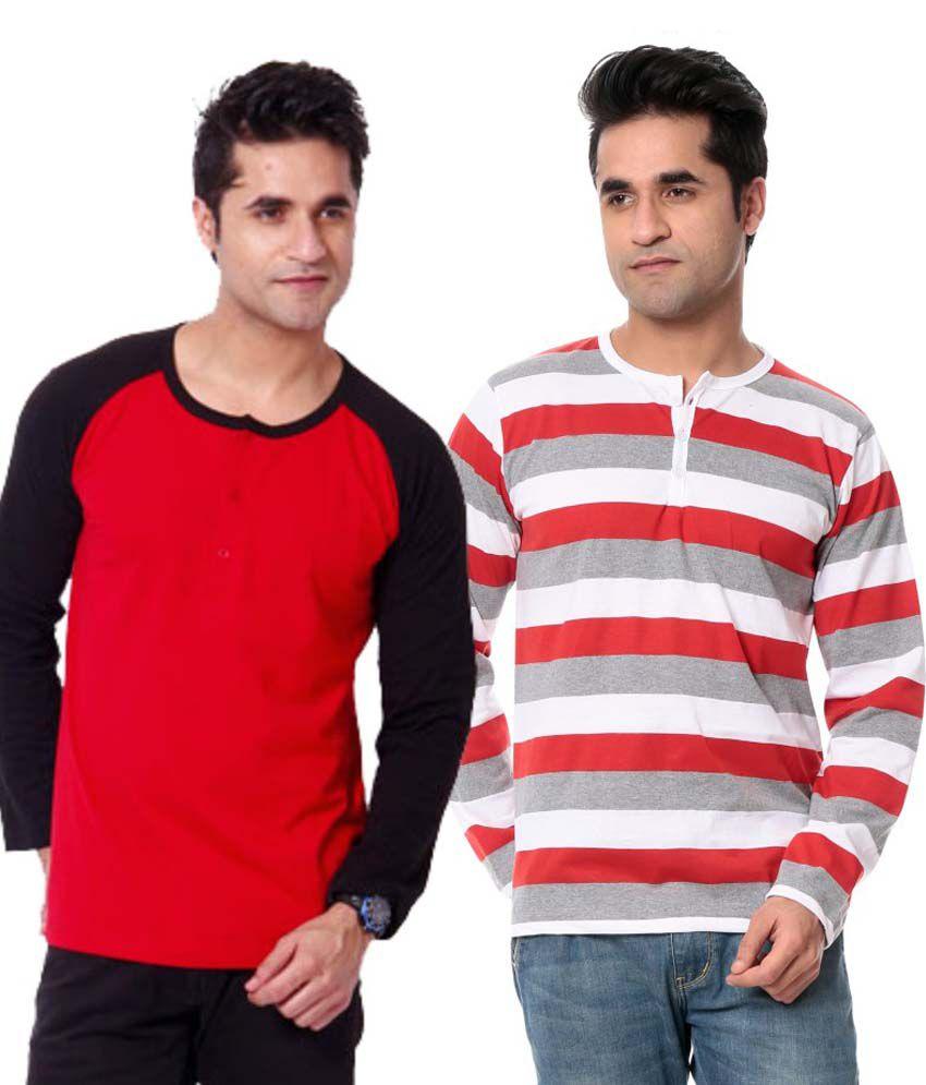 Leana Cotton T-shirt Combo Of 2
