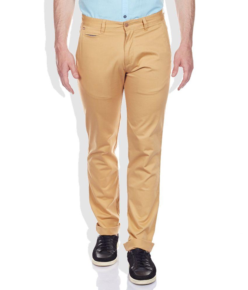 Cherokee Yellow Slim Trousers