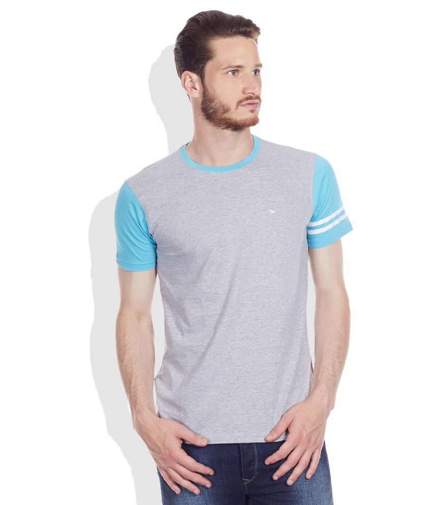 Ruggers Young Gray Round Neck T-Shirt