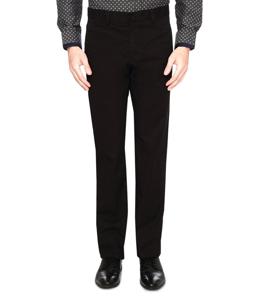 Van Heusen Brown Slim Fit Pants
