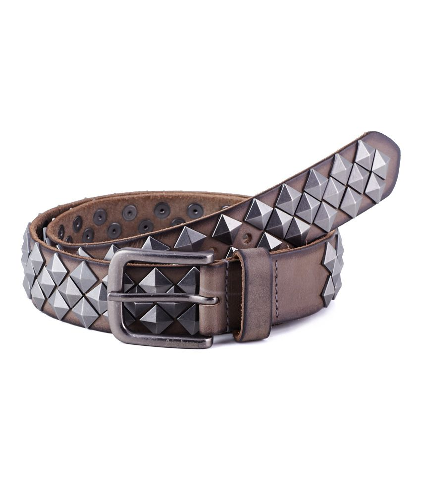 Being Human Gray Men Belt