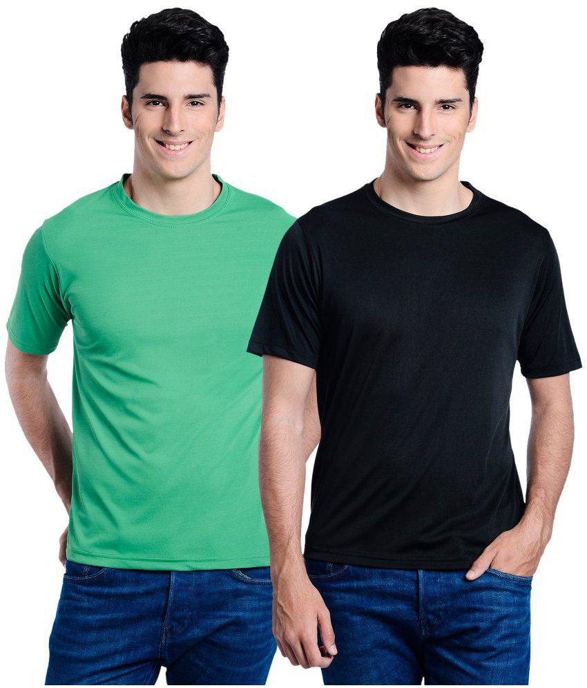 Superjoy Casual T Shirts - Set Of 2