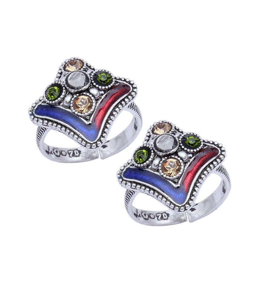 Aman Fancy Toe Ring