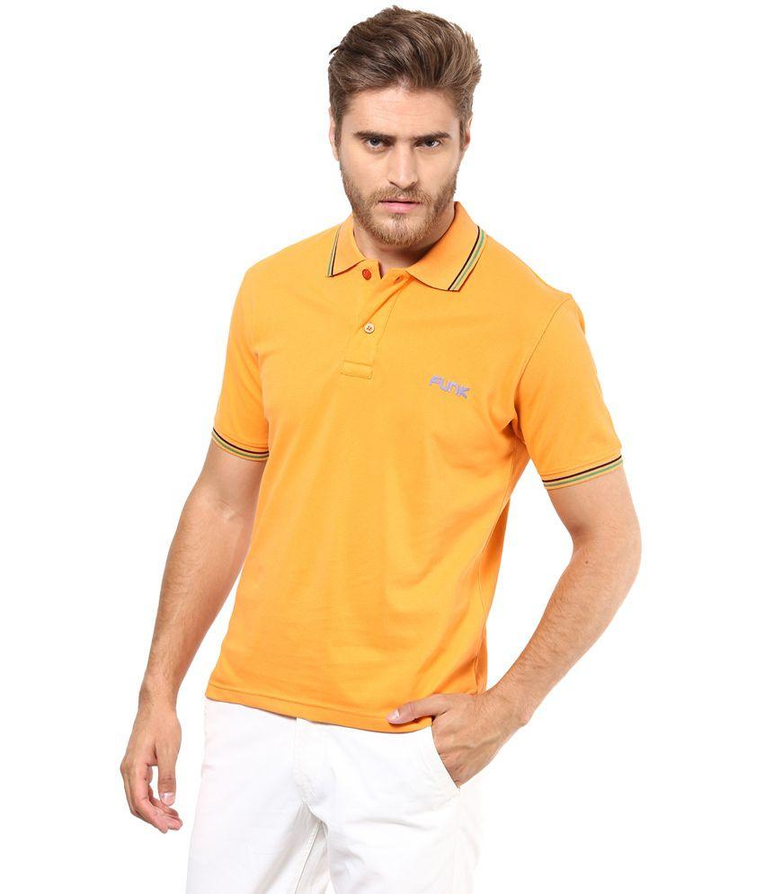 Funk PeachPuff Cotton Basics T-Shirt