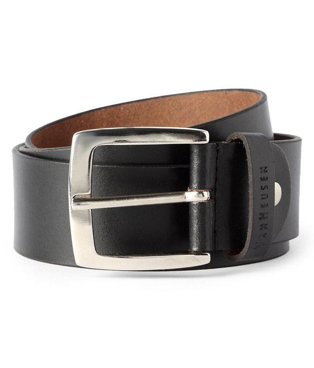 Van Heusen Black Casual Belt