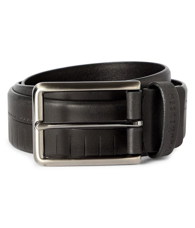 Van Heusen Black Casual Belt