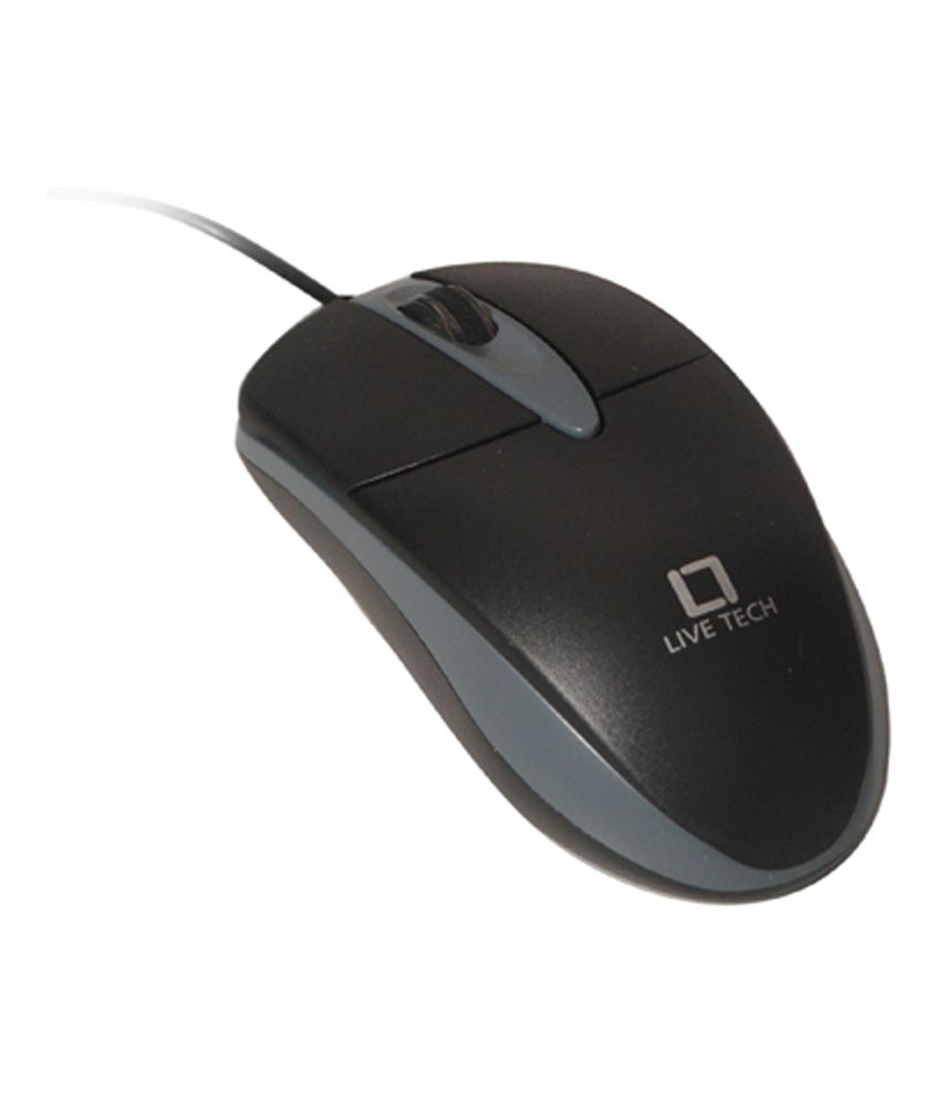 Live Tech ms12 USB Mouse Black