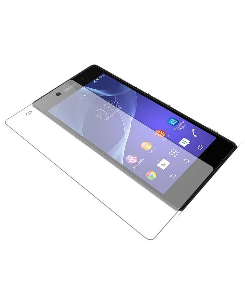 Uni Mobile Care 2 Clear Screen Guards / Screen Protector For Sony Xperia Z Ultra