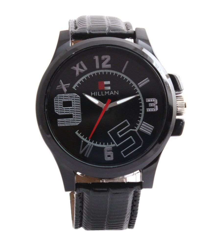 Hillman Black Casual Analog Watch For Men