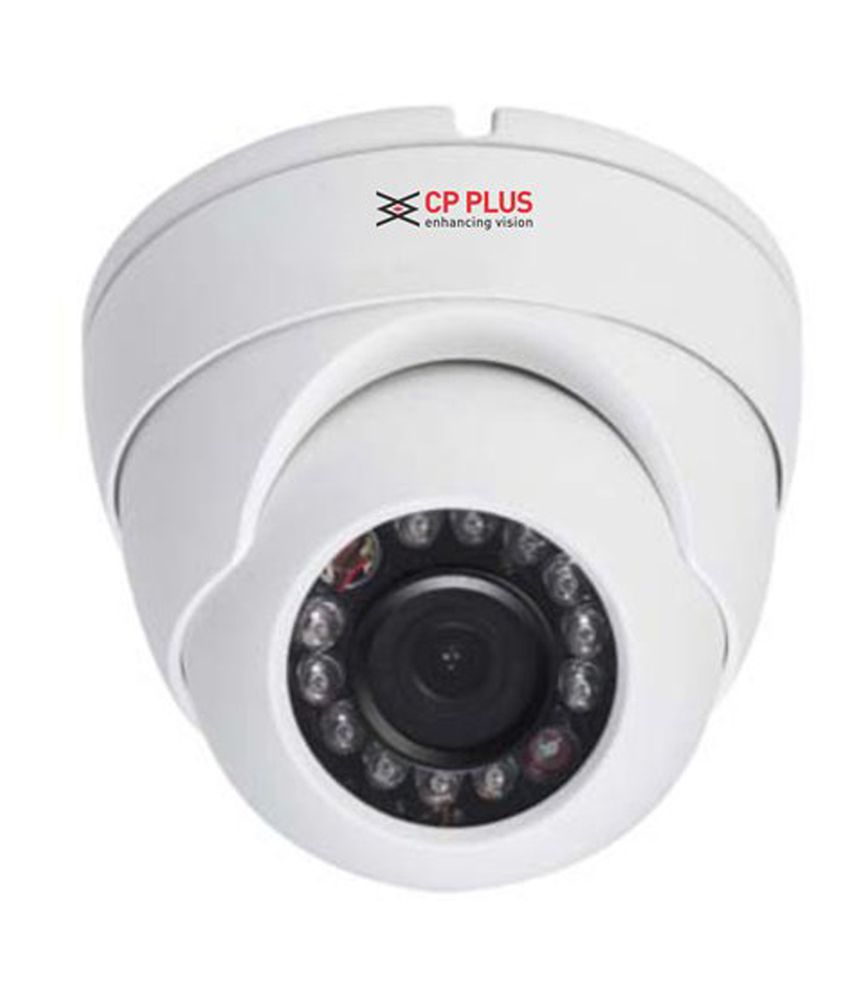 Cp Plus Hdcvi Ir 1 Mp Hd Model:cp-uvc-d1000l2a (dome) Cctv With Actone Mobile Charging Data Cable