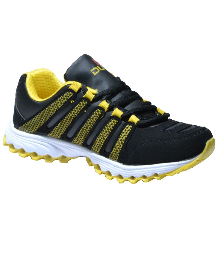 Duke Comfortable Yellow Sport Shoes