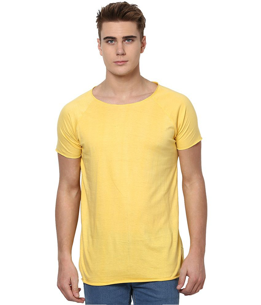 Unisopent designs yellow cotton full sleeves t shirt buy for Buy t shirt designs online