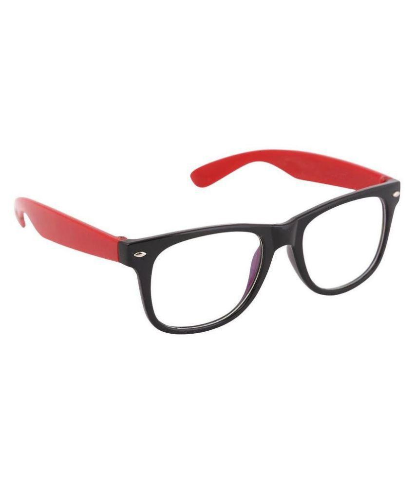 CraftCor Clear Wayfarer Sunglasses ( Wayfarer )