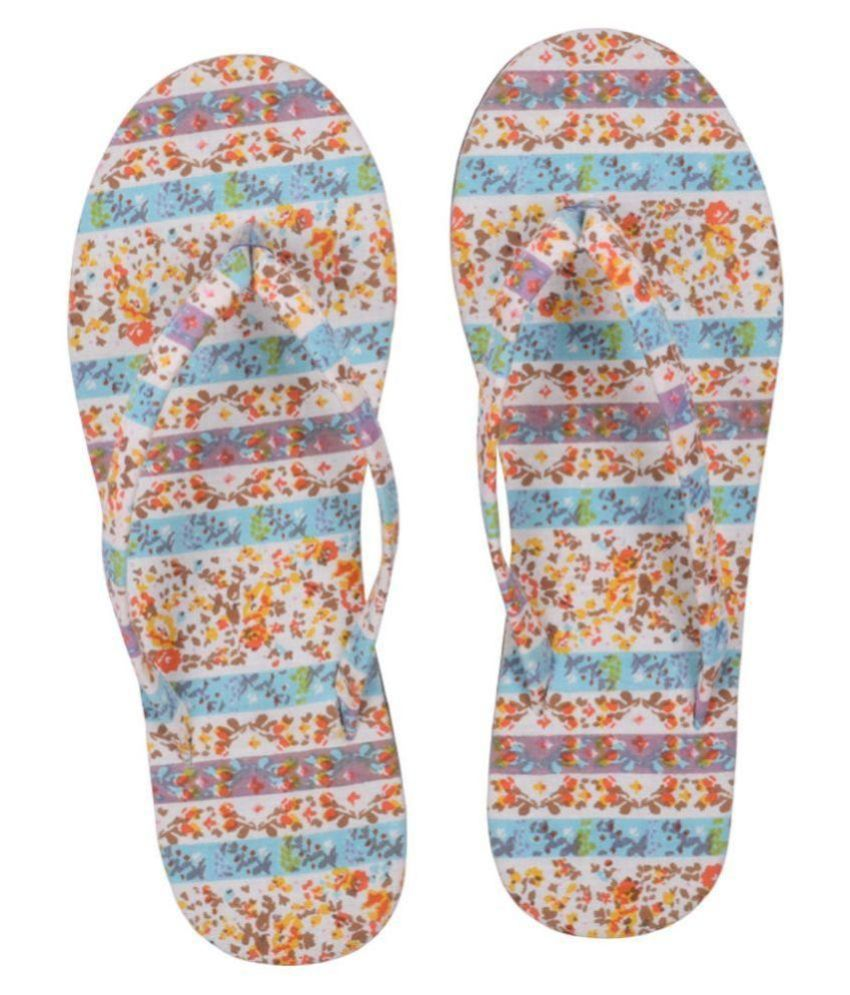 Hve Multi Color Slippers