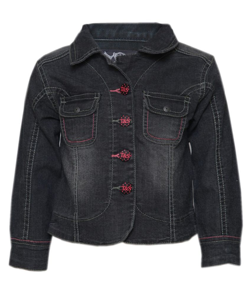 Tales & Stories Black Denim Jacket