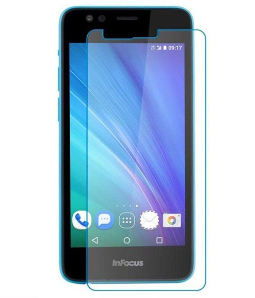 Affix Tempered Glass Screen Protector for Infocus Bingo 21