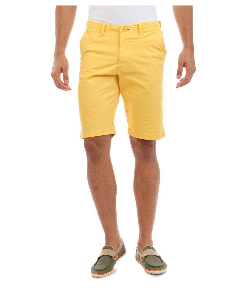 Sting Yellow Shorts