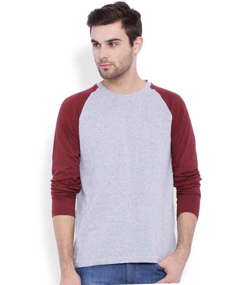 Difference of Opinion Grey Round T Shirt