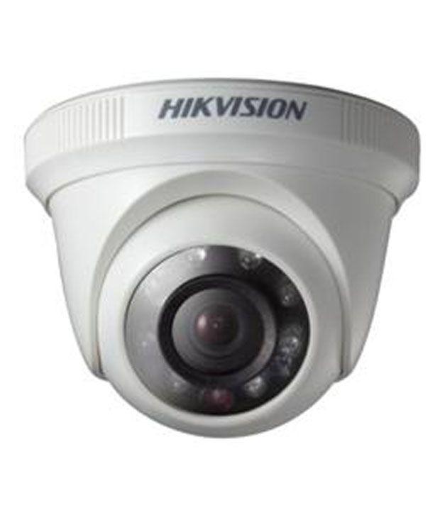 Hikvision DS-2CE56C0T-IRP HD720P Drome CCTV Camera - White