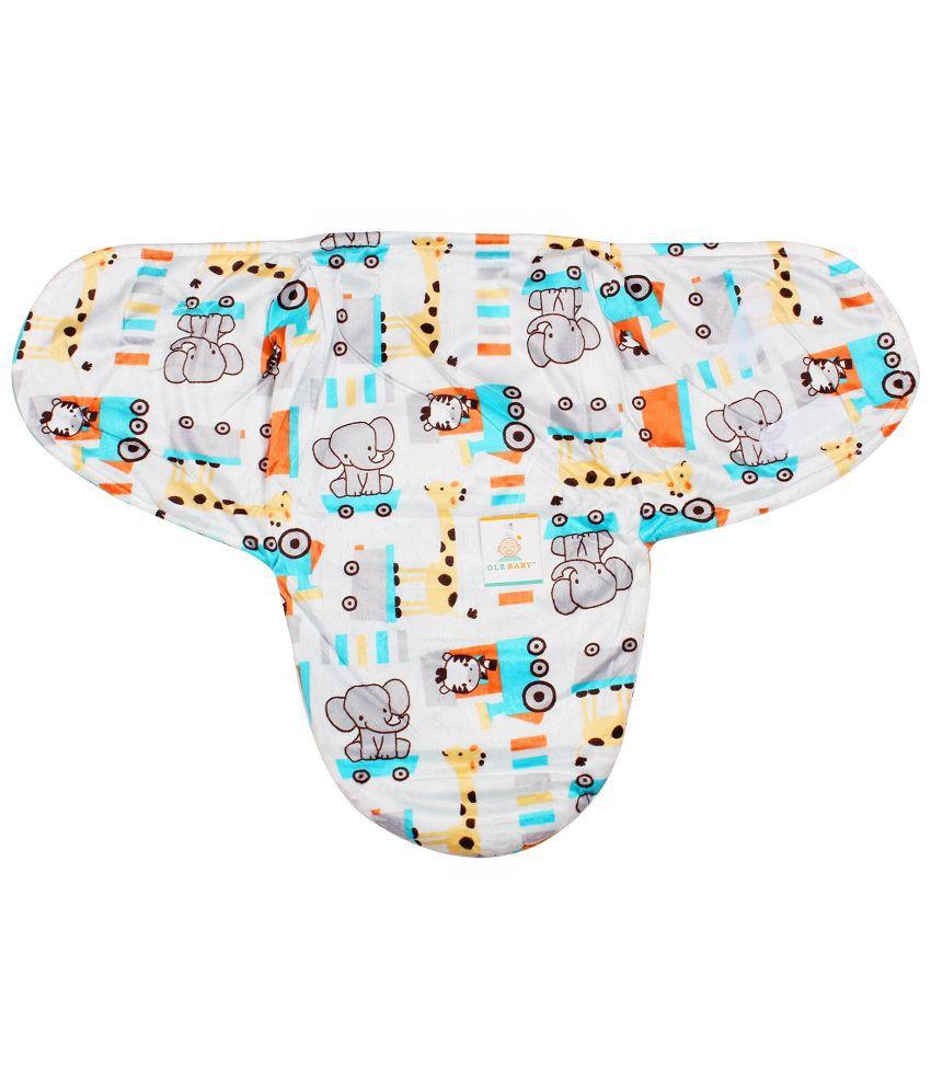 Ole Baby Multi Color Baby Wraps Baby Blanket/Baby Swaddle/Baby Sleeping Bag