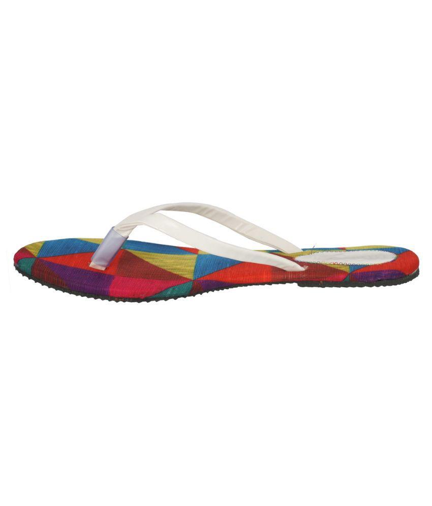Suntrance White Slippers