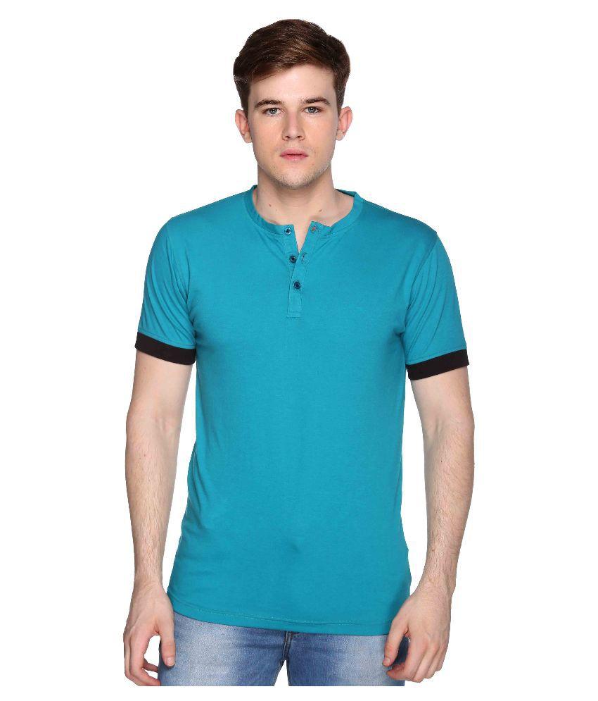 Club York Turquoise Henley T Shirt