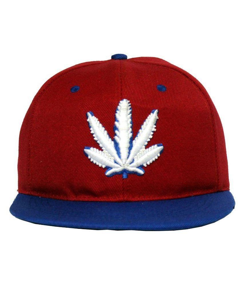 Wild & Wacky Red Hip Hop Cap