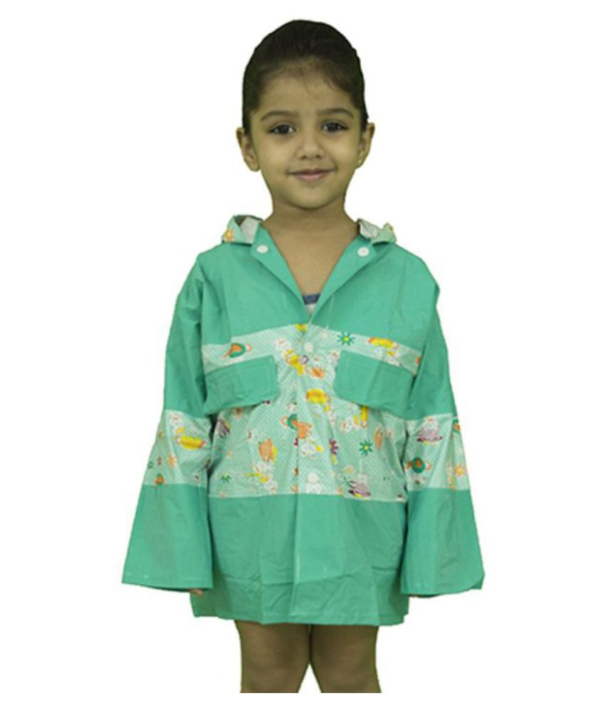 Rainfun Multicolored Polyester Raincoat