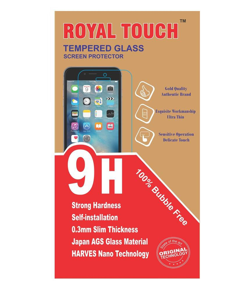 Royal Touch Tempered Glass Screen Guard for Samsung Galaxy S3 Mini