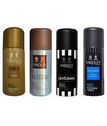 Yardley Combo of Gold, Arthur, Elegane and Gentleman Deo for Men