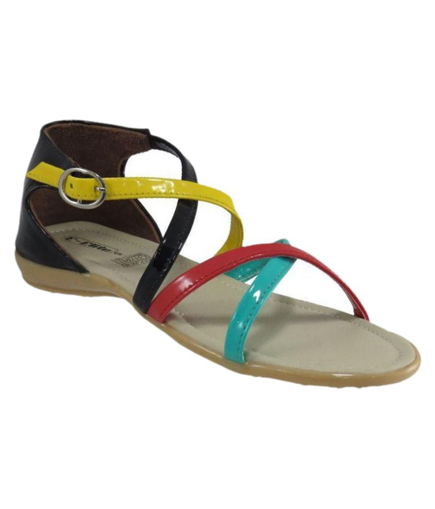 Elite Multi Color Flats