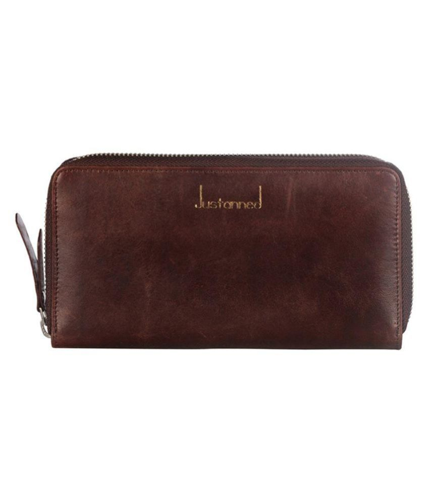 Justanned Brown Wallet