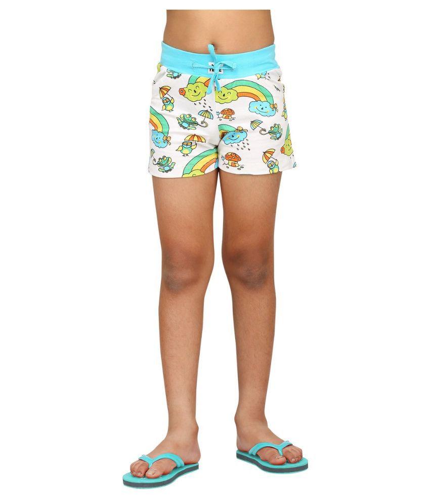 Nuteez Multicolour Cotton shorts