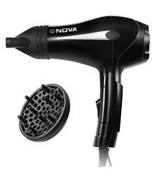 NOVA NHP 8201 Professional 1600 W Hair Dryer (Black)