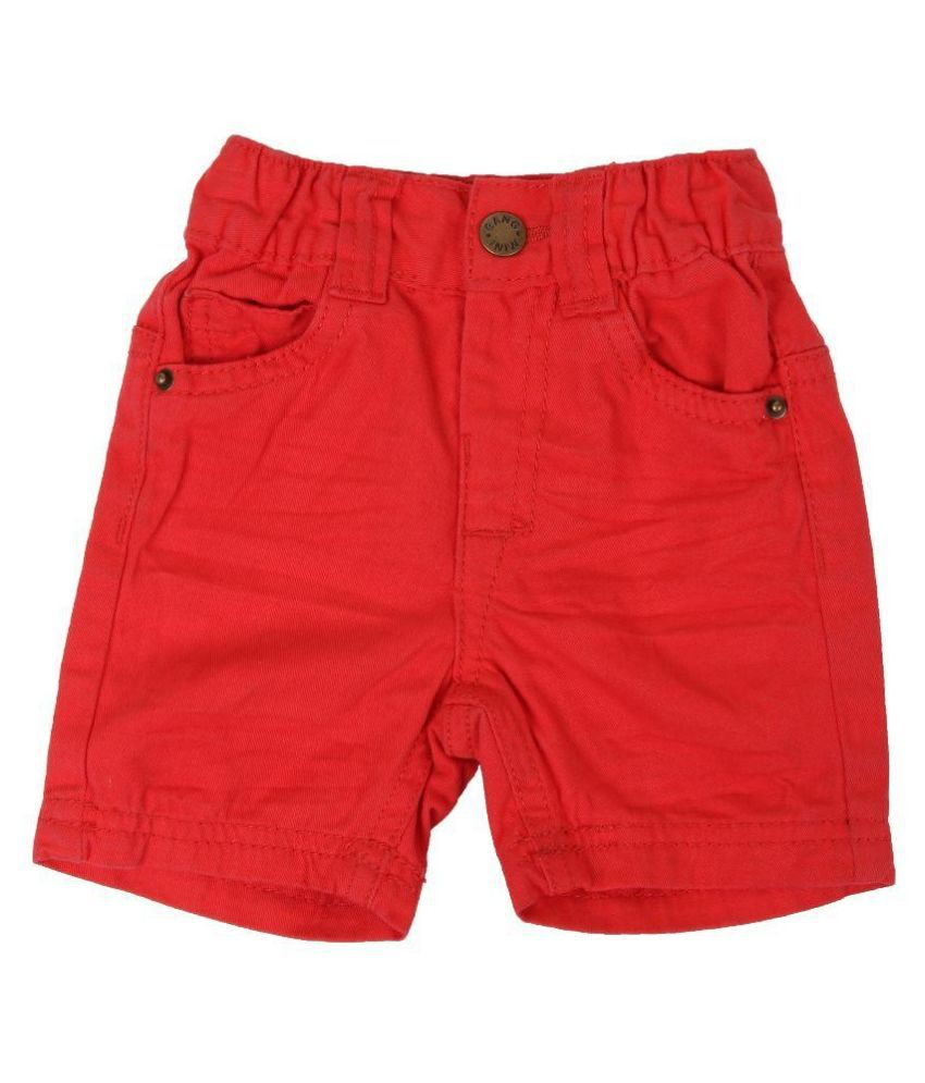 Innocent Kids Red Shorts