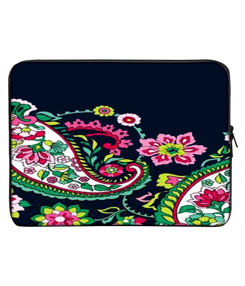 Panda Creation PC_195-Laptop-sleeve-15 Multi Color Polyester Laptop Sleeve