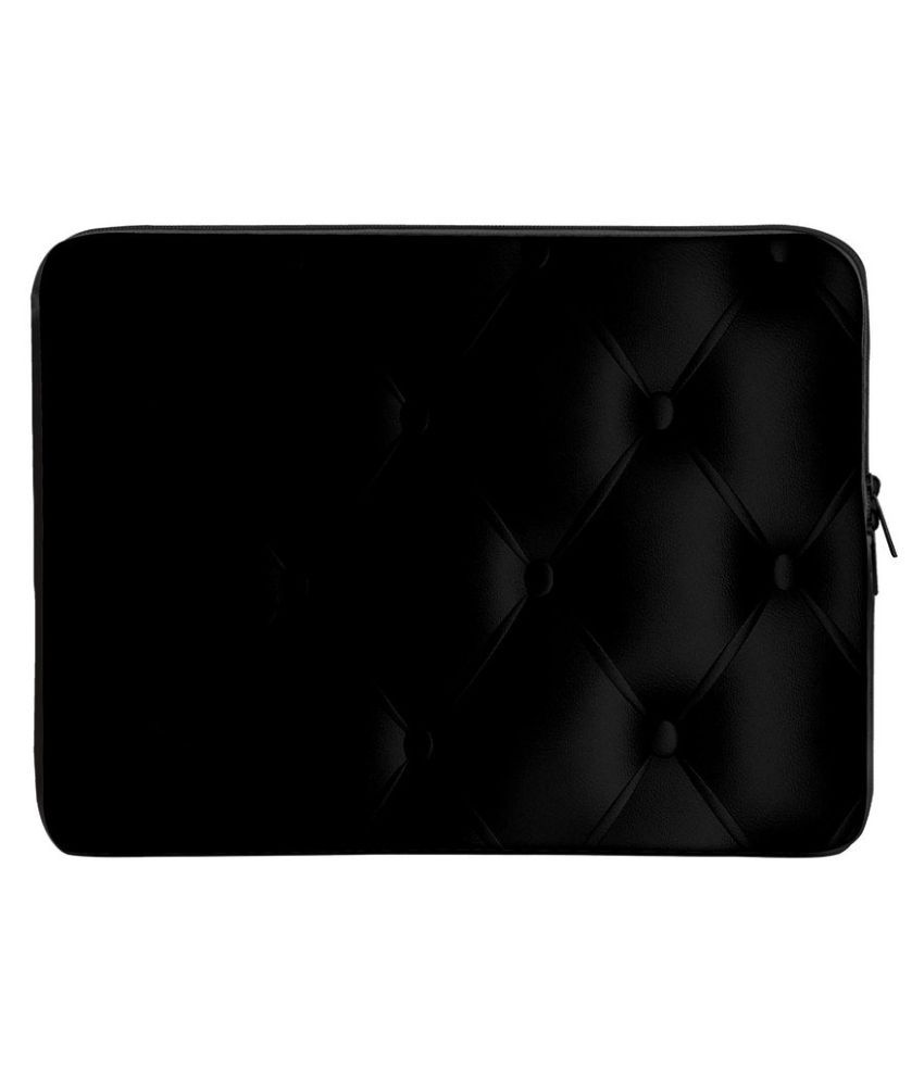Panda Creation PC_440-Laptop-sleeve-15 Black Polyester Laptop Sleeve