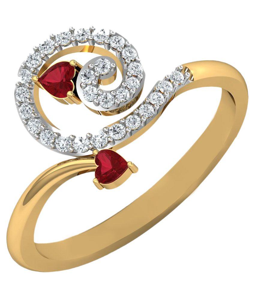 Carat Forever 14Kt Gold Ring