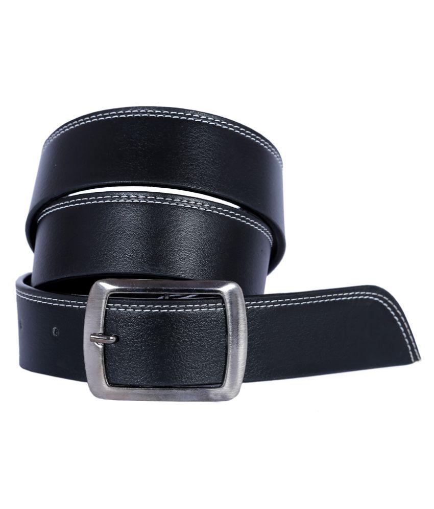 Kritika World Black Belt for Men