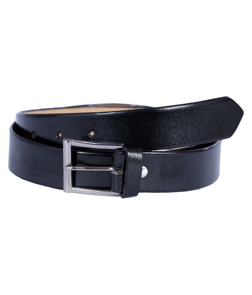 Hardy's Collection Black Pin Buckle Belt for Men